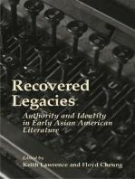 Recovered Legacies