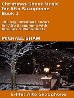 Christmas Sheet Music for Alto Saxophone