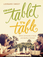 From Tablet to Table
