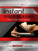 Instant Speed Reading