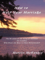 How To Help Your Marriage
