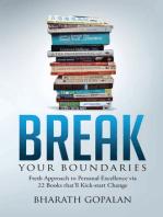 Break Your Boundaries