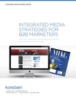 White Paper on Media Strategies for B2B Marketers