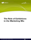 Study on Role of Exhibitions in The Marketing Mix