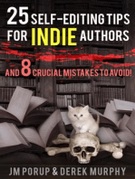 25 Self Editing Tips for Indie Authors (And 8 Crucial Mistakes to Avoid)