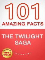 The Twilight Saga - 101 Amazing Facts You Didn't Know