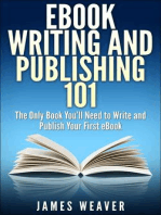 EBook Writing and Publishing 101