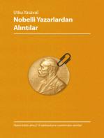 Nobelli Yazarlardan Alıntılar
