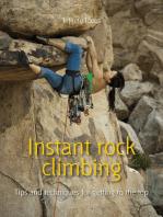 Instant rock climbing