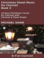 Christmas Sheet Music for Clarinet