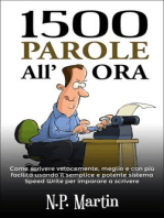1500 Parole All'ora