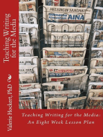 Teaching Writing for the Media