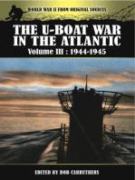 The U-Boat War in the Atlantic