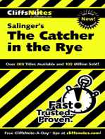 CliffsNotes on Salinger's The Catcher in the Rye