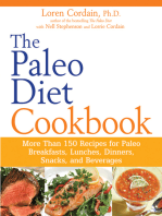 The Paleo Diet Cookbook