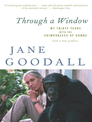 A discussion about the science of anthropology and jane goodall book on primates