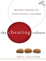The Cheating Culture: Why More Americans Are Doing Wrong to Get Ahead