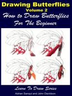 Drawing Butterflies Volume 2