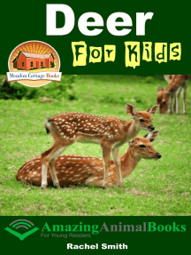 Deer For Kids: Amazing Animal Books For Young Readers
