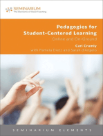 Pedagogies for Student-Centered Learning: Online and On-Gound