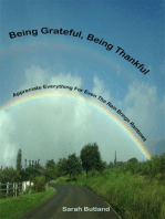 Being Grateful, Being Thankful