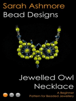 Jewelled Owl Necklace