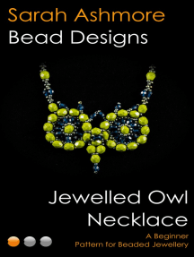 Jewelled Owl Necklace: A Beginner Pattern for Beaded Jewellery