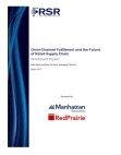 Study Report on Omni-Channel Fulfillment - Retail Supply Chain
