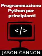 Programmazione Python per principianti