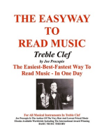 The Easyway to Read Music Treble Clef