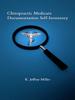 Chiropractic Medicare Documentation Self-Inventory