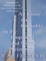 An Essay on Causality in the Empirical and Social Sciences