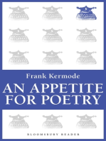 An Appetite for Poetry