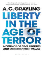Liberty in the Age of Terror: A Defence of Civil Liberties and Enlightenment Values
