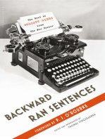 Backward Ran Sentences