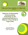 Case Study on Influence of Information Communication Technology on the Advertising