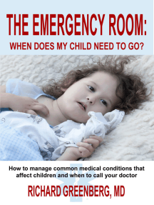 The Emergency Room: When Does My Child Need to Go?