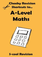 A-level Maths Revision (Cheeky Revision Shortcuts)