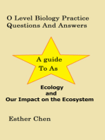 O Level Biology Practice Questions And Answers