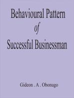Behavioural Pattern of Successful Businessmen