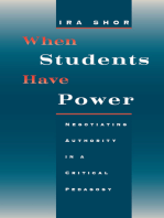 When Students Have Power