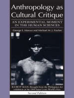 Anthropology as Cultural Critique