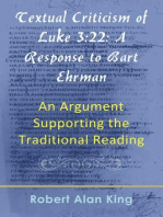Textual Criticism of Luke 3:22
