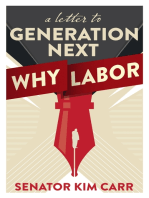 A Letter to Generation Next