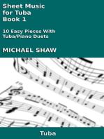 Sheet Music for Tuba