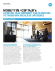 Project on Mobility in Hospitality
