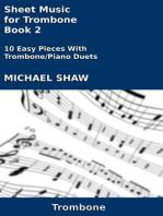 Sheet Music for Trombone
