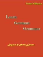 Learn German Grammar