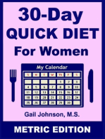 30-Day Diet for Women - Metric Edition