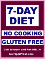 7-Day Gluten Free No Cooking Diet